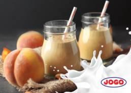 Koktajl brzoskwiniowy z mlekiem JOGO