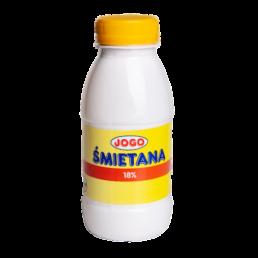 Śmietana 18% butelka 250 g